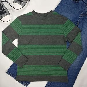 Boys Long Sleeve Stripe Top